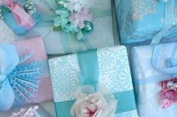 О сочетании цветов в подарочной упаковке