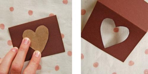 Валентинки-открытки. Мастер-класс