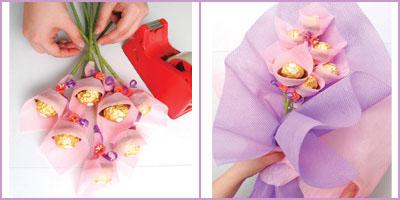 Как сделать конфету из упаковочной бумаги