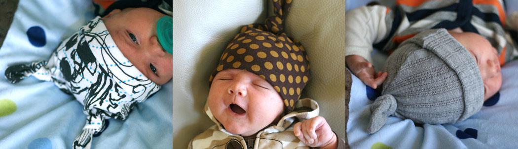 Шапка для новорожденных своими руками