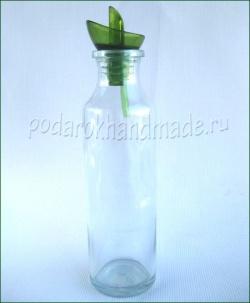 Декупаж для начинающих - бутыль для оливкового масла