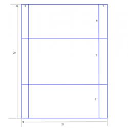 Схема конверт из бумаги