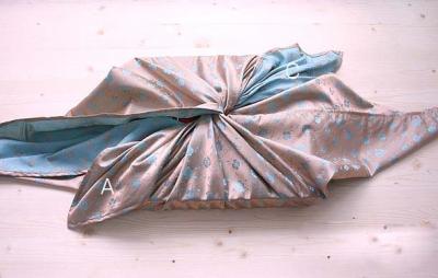 Фурошики – японская техника упаковки подарков