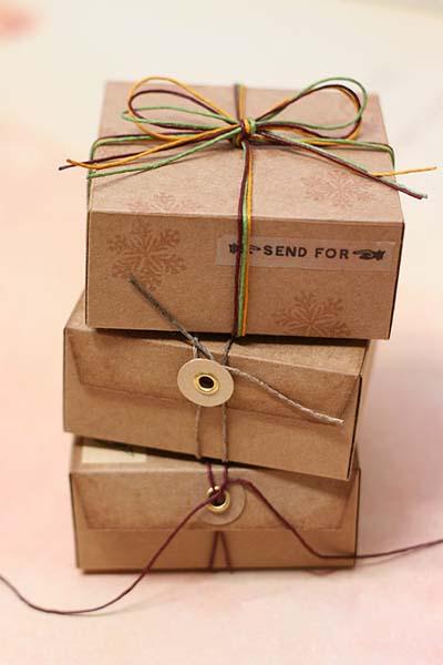 Коробку под подарок своими руками