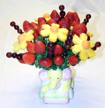 Букет из фруктов <i>съедобные</i> своими руками