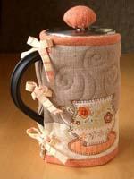 Грелка на чайник: идея подарка своими руками