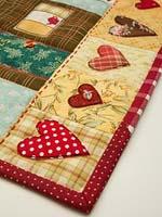 Лоскутное одеяло: идея подарка своими руками