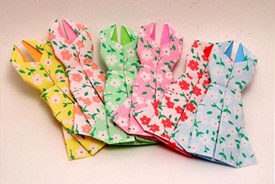 Платье оригами от KittyKatkards