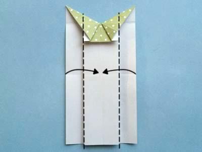 Платье оригами: шаг 7