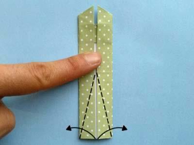 Платье оригами: шаг 8