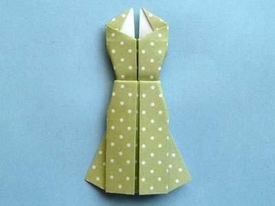 Платье оригами: результат