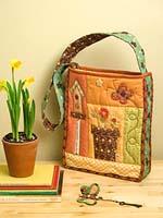 Весенняя сумка: идеи подарков своими руками