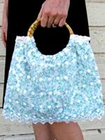 Дамская сумочка с кружевами: идеи подарков своими руками