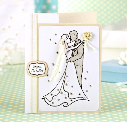 Свадебные открытки своими