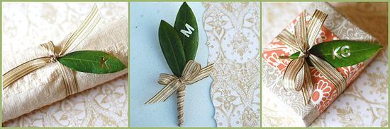 Бутоньерка для жениха своими руками из живых листьев