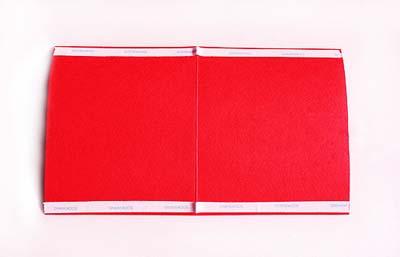 Как сделать простую новогоднюю открытку - шаг первый