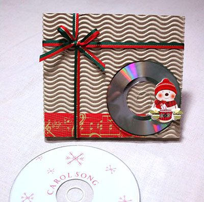 Коробка из картона для cd диска своими руками