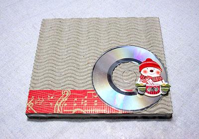 Как упаковать диск в подарок - шаг 5