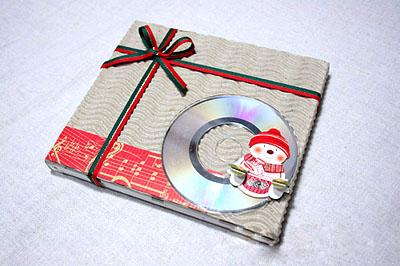 Как упаковать диск в подарок - шаг 6