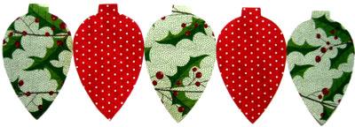 Новогодние украшения из бумаги - вырезаем 5 деталей из разной бумаги
