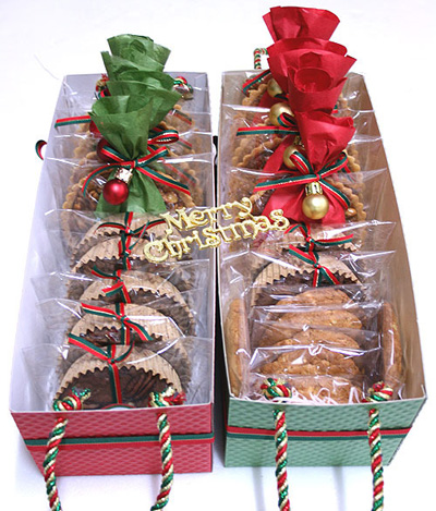 Новогодние подарки из коробок своими руками
