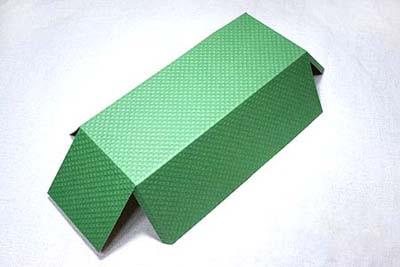 Коробка для сладостей - вырезаем шаблон