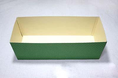 Коробка для сладостей - склеиваем боковые стороны