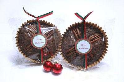 Новогодние сладости - декорируем лентами