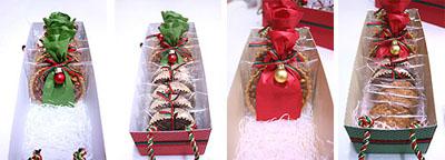 Новогодние сладости - укладываем в коробку