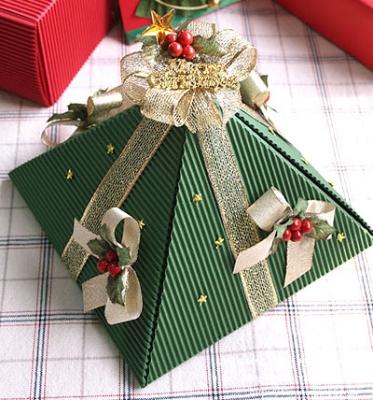 Коробки для новогодних подарков своими руками