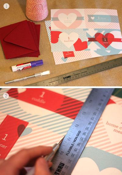 Как сделать любовные купоны - распечатываем и вырезаем шаблоны