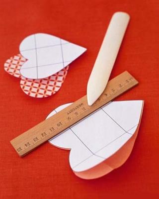 Как сделать валентинки из бумаги - шаг 2