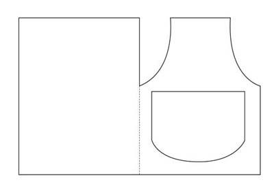 Как сделать открытку для бабушки своими руками - шаблон 1