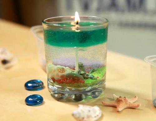 Желейные свечи своими руками