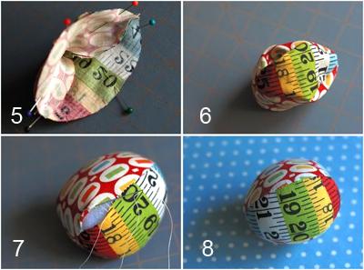Как сделать декоративные пасхальные яйца из ткани