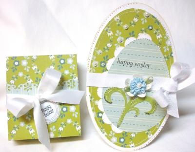Пасхальные открытки своими руками: открытка-яйцо от Regina Easter