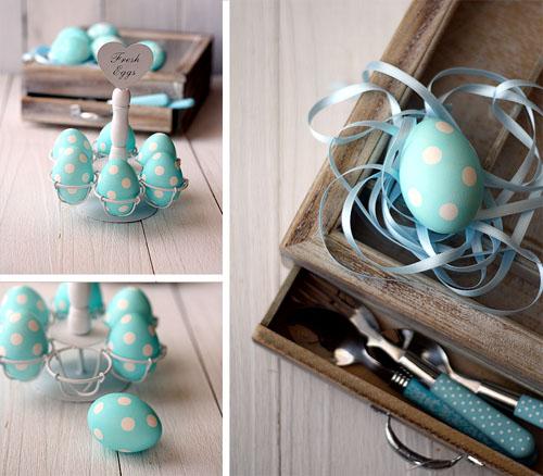 Как красиво покрасить пасхальный яйца