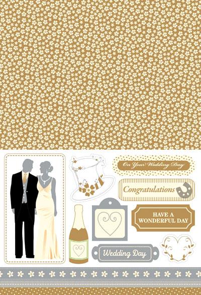 Бумага для печати. Выпуск 9: свадебный