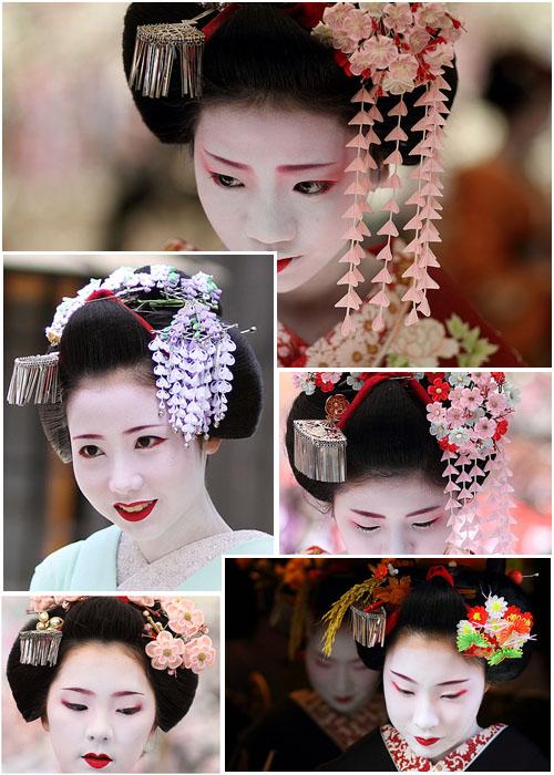Кандзаси - японское украшение для волос