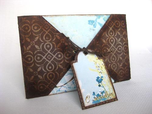 Оригинальный подарочный конверт для денег своими руками
