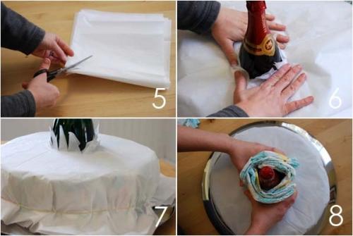 Как делать торт из памперсов - пошаговая инструкция