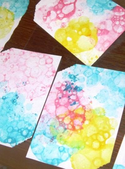 Как сделать из бумаги пузырёк