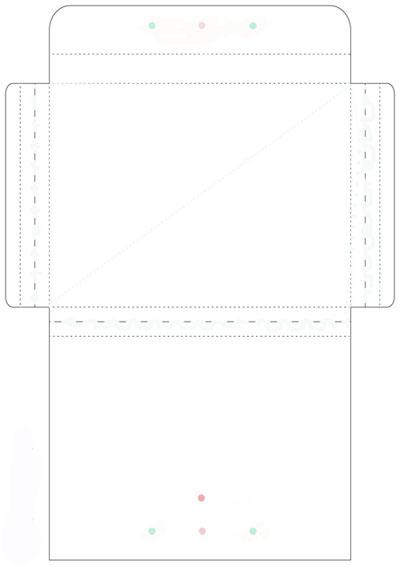 Конверт для объемной открытки