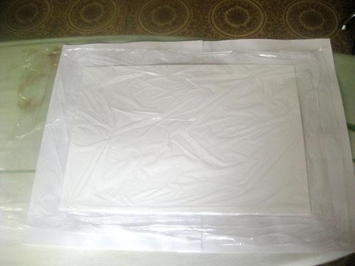 Декоративная бумага из салфеток - делаем сами