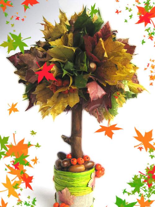 Осенняя поделка в сад