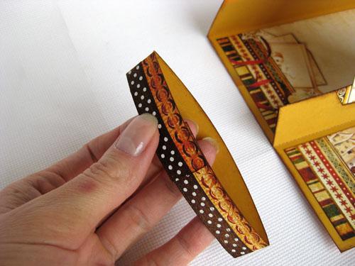 Конверт-подставка и открытка