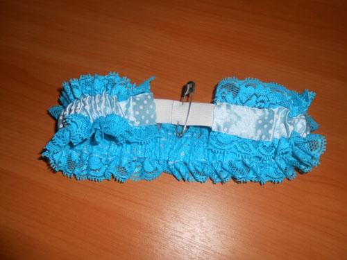 Как сшить подвязку невесты