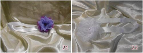 Модная повязка на голову с цветком