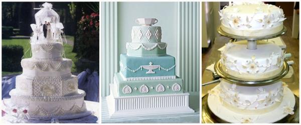 Свадебные торты: идеи и тенденции